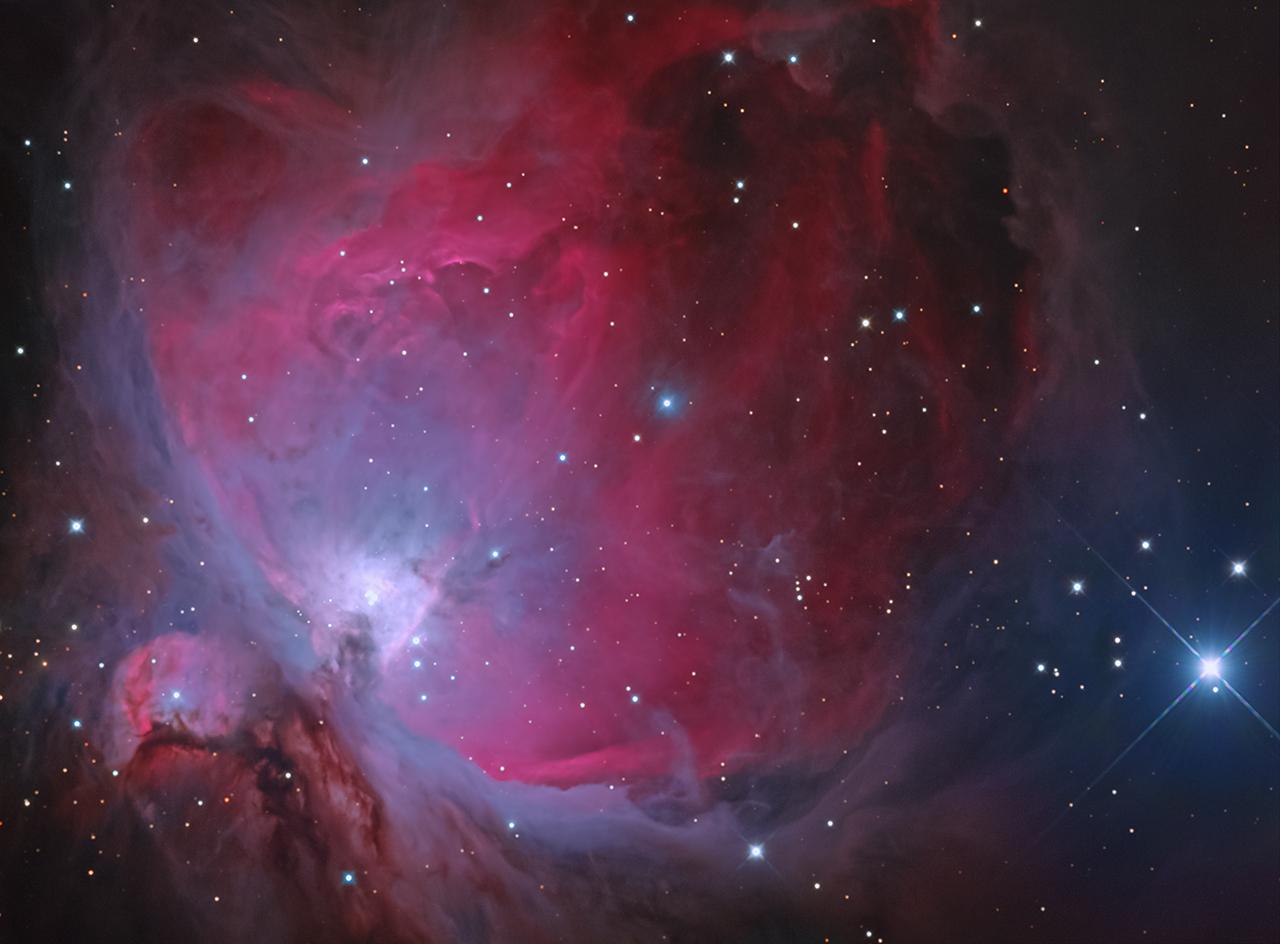 ดวงดาว โอไรออน เนบิวลา ตระกูลจิตร จิตตไสยะพันธ์