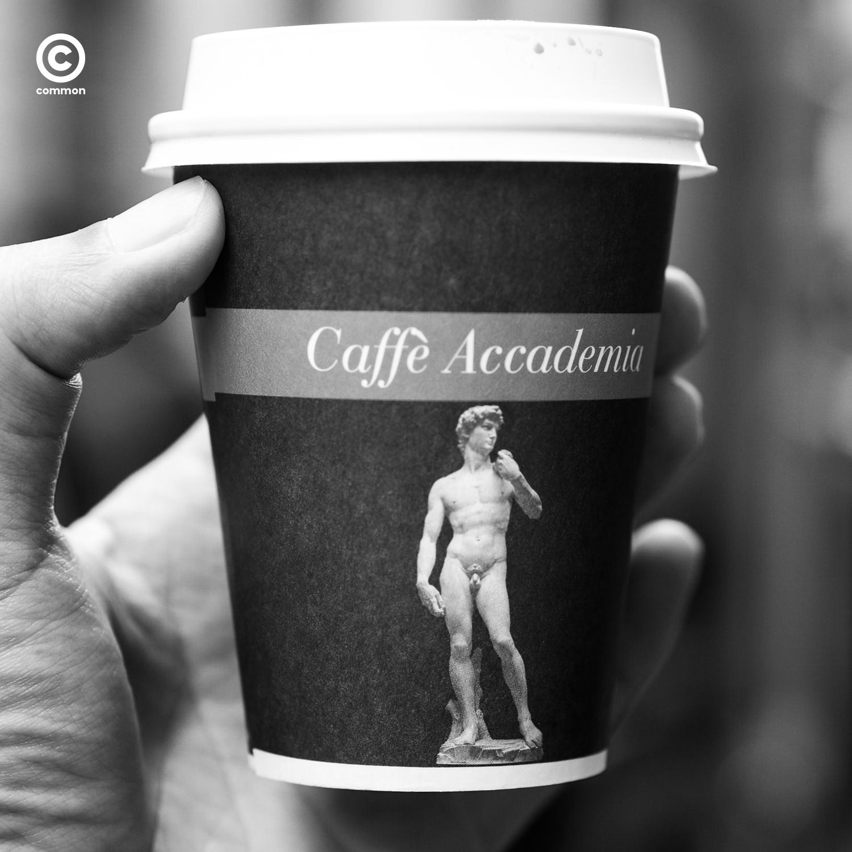 Caffe Accademia หอศิลป์ Galleria dell'Accademia ฟลอเรนซ์ อิตาลี Florence Italy