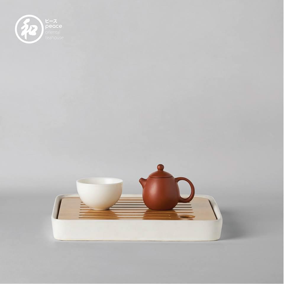 ชา Peace 和 Oriental Teahouse
