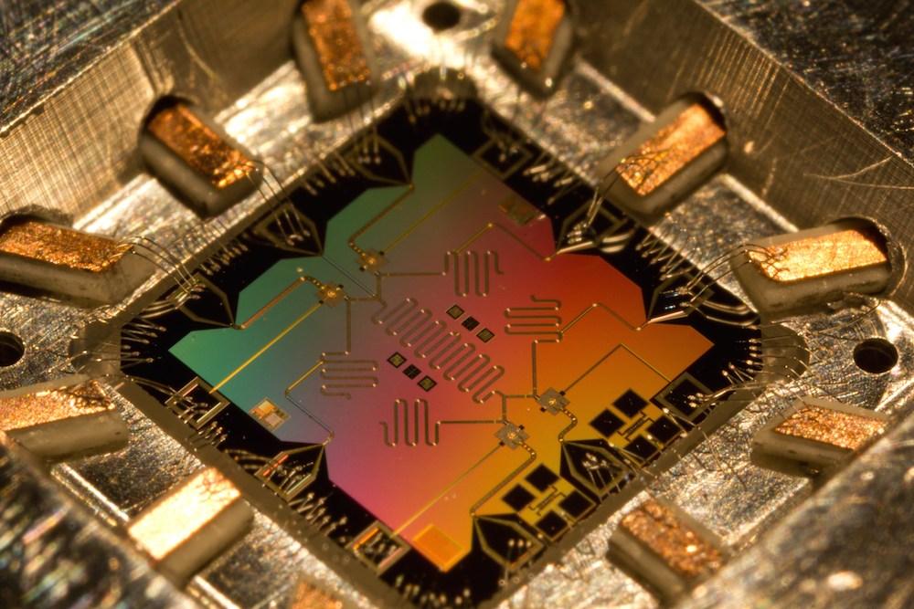 หน่วยประมวลผลกลางหรือ 'สมอง' ของคอมพิวเตอร์เชิงควอนตัม
