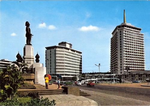 โปสการ์ดโรงแรมดุสิตธานี ปี 1971