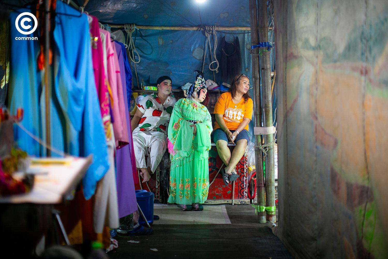 งิ้ว จีน chinese opera ศาลเจ้า เจ