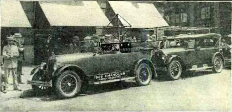 รถยนต์ Chandler รุ่น 1926