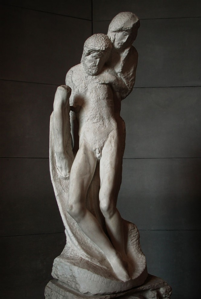 Rondanini Pieta รูปปั้น