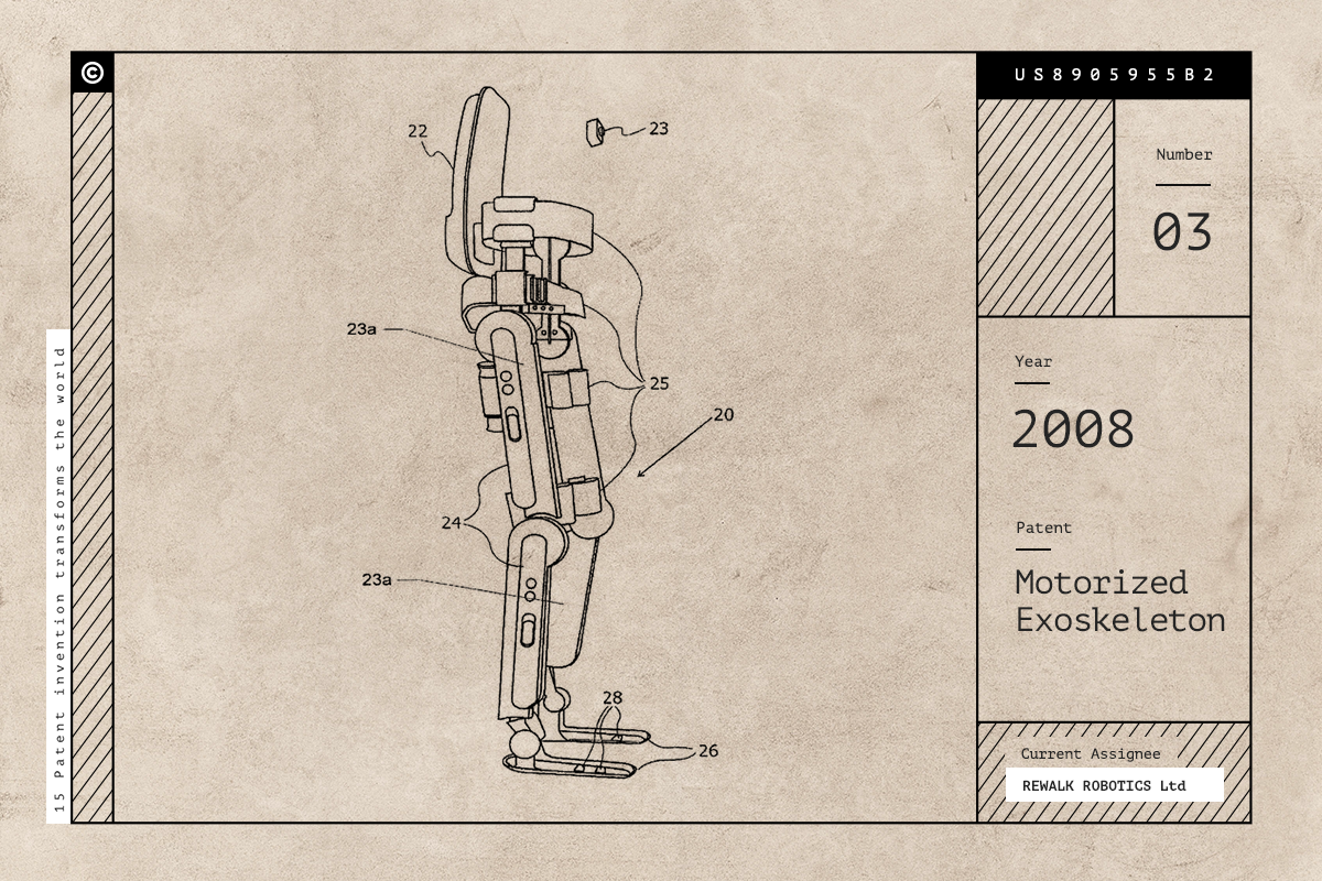 ชุดเกราะ Motorized Exoskeleton