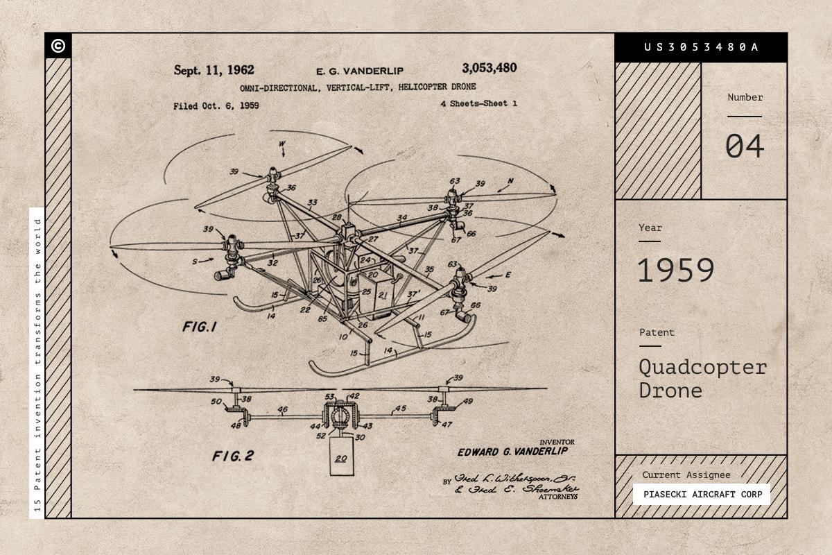 โดรนบังคับ Quadcopter Drone