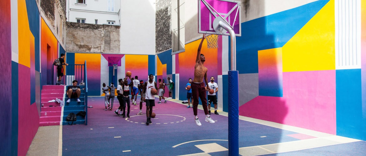 Udon_Tactical_Tactical Urbanism Basketball Paris