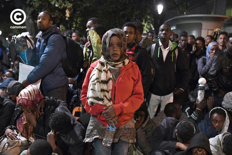 ผู้อพยพ immigrant ปารีส