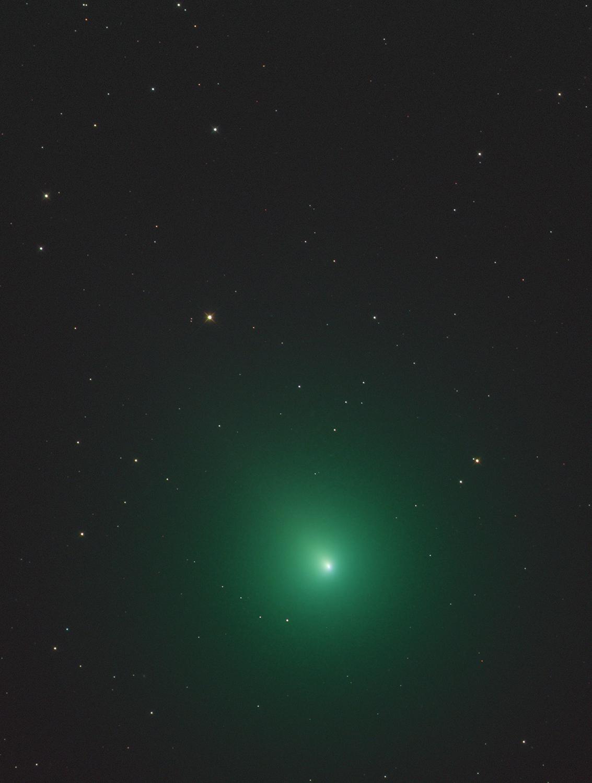 ดาวหาง 46P/Wirtanen ถ่ายเมื่อวันที่ 5 ธันวาคม พ.ศ.2561 (Photo: ตระกูลจิตร จิตตไสยะพันธ์)