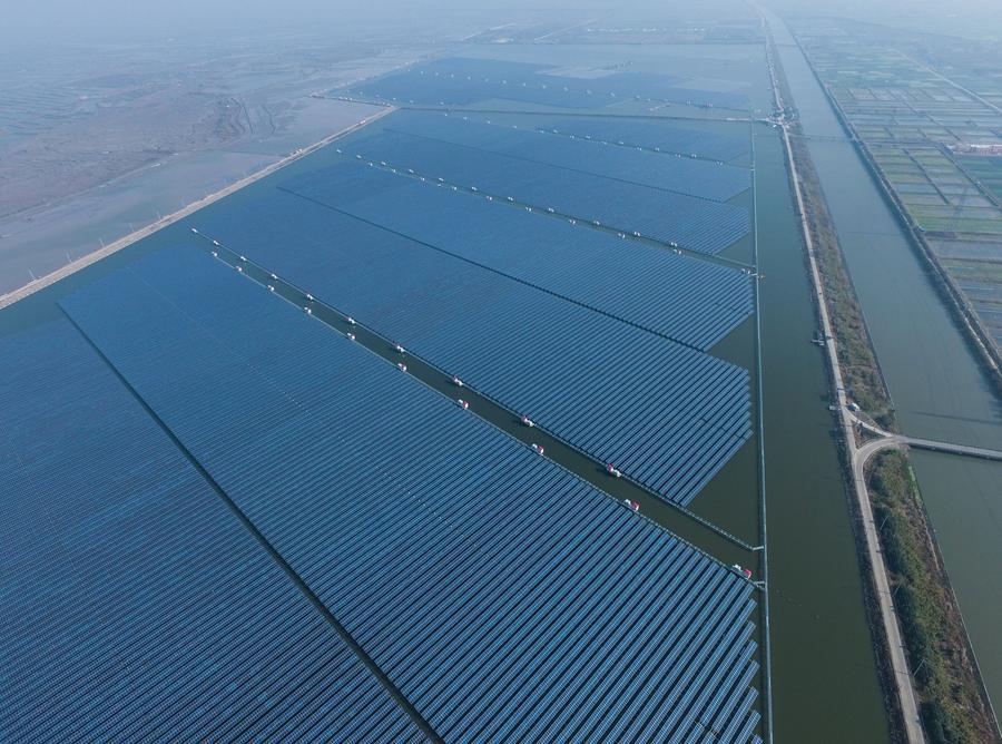 ฉือซี โรงไฟฟ้าพลังงานแสงอาทิตย์