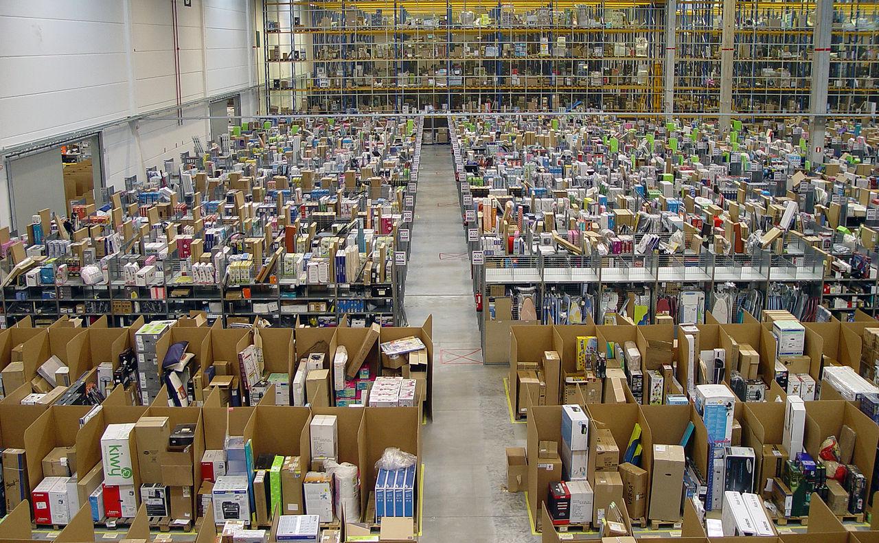 โกดัง อเมซอน สเปน Fulfillment Center Amazon Spain