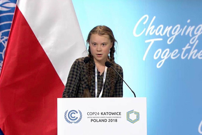 Greta Thunberg เกรตา ธันเบิร์ก