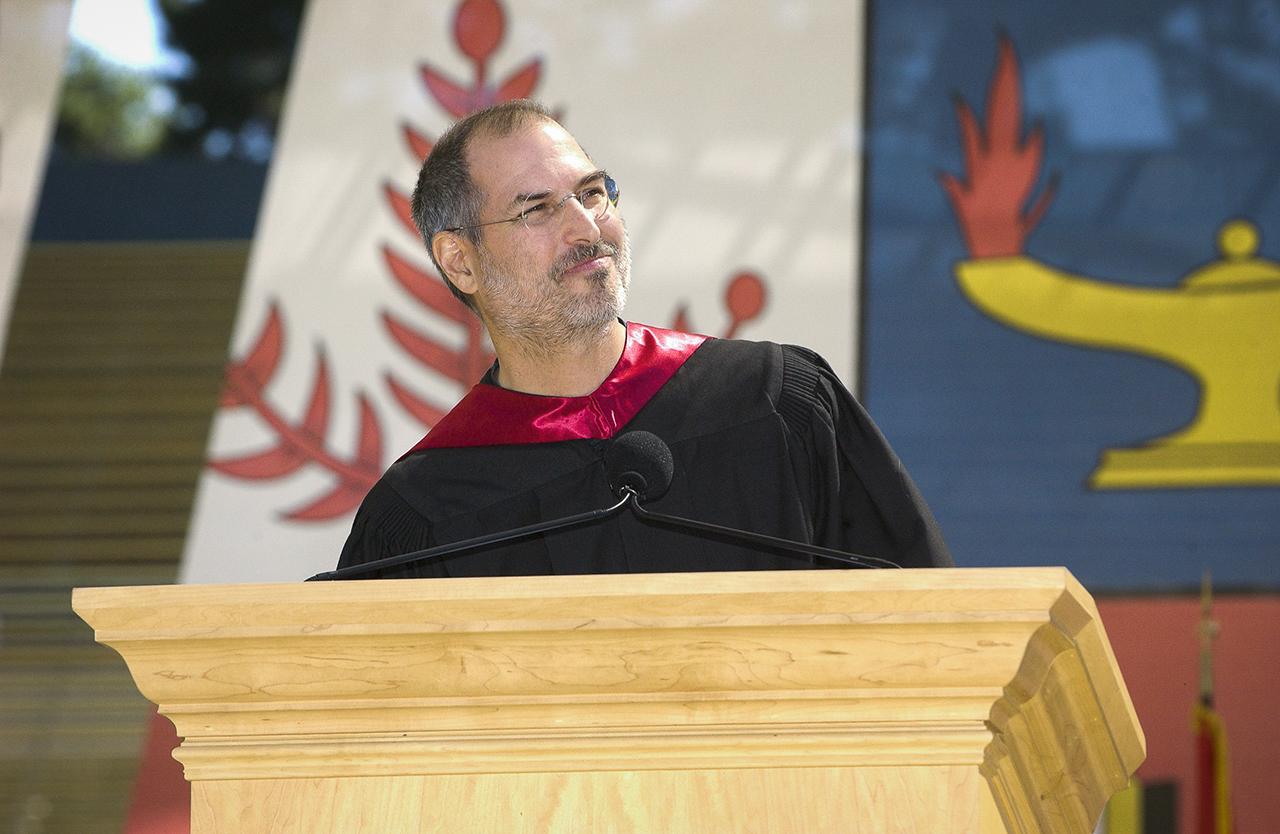 สตีฟ จ็อบส์ สุนทรพจน์ มหาวิทยาลัย สแตนฟอร์ด ปี 2005