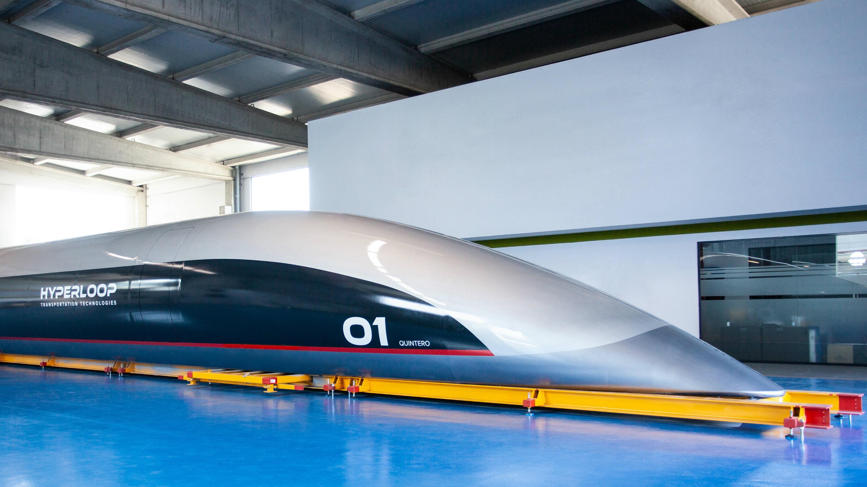 Hyperloop ไฮเปอร์ลูป คาดิซ สเปน