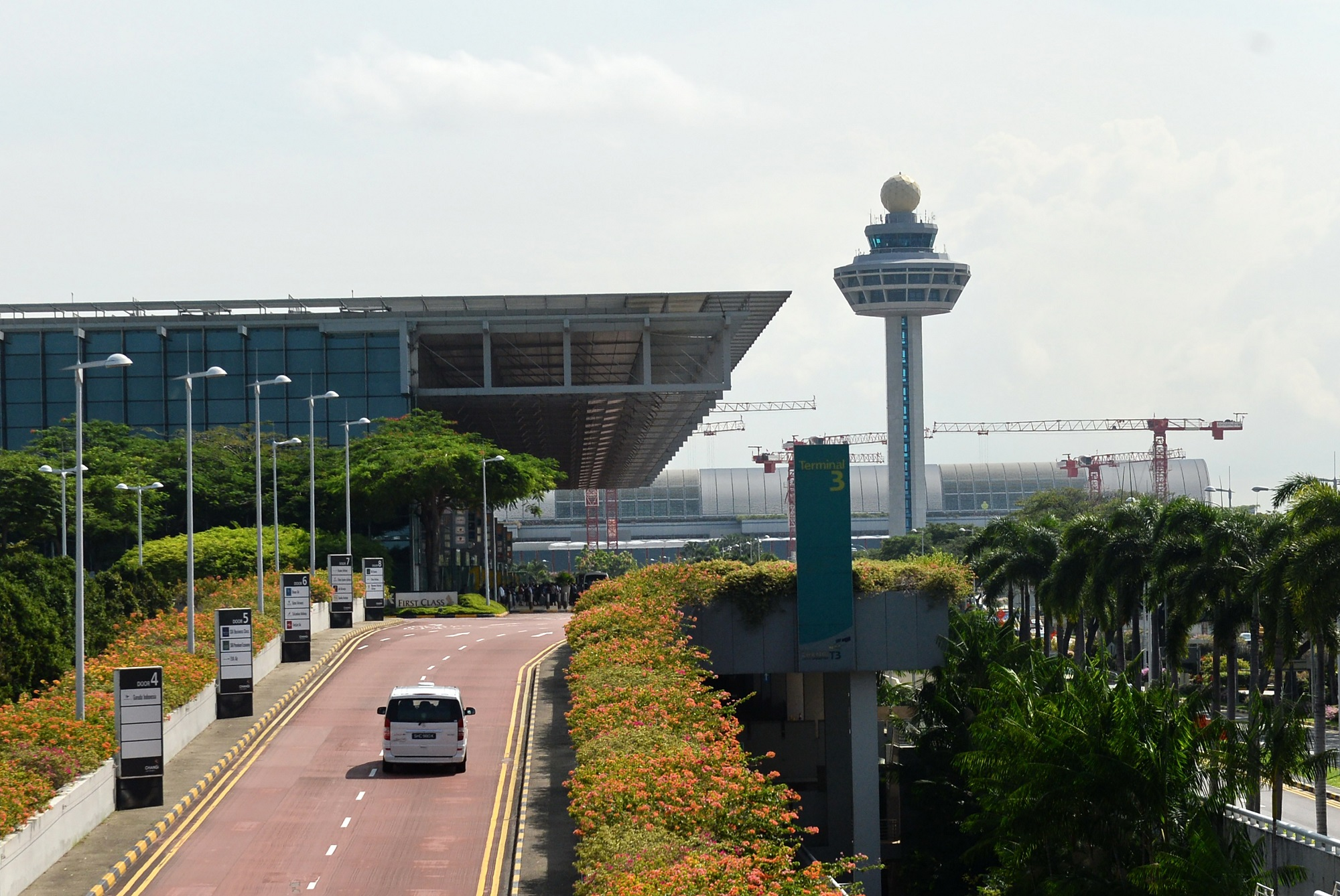 ภูมิสถาปัตยกรรม สนามบินสิงคโปร์