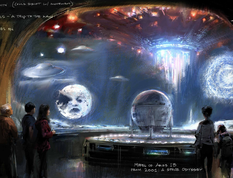 Academy Museum Oscar Wizard of Oz Space Odyssey