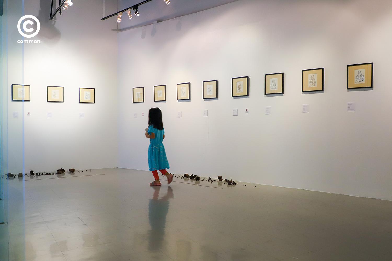 #ศิลปะ #หอศิลปวัฒนธรรมกรุงเทพมหานคร #นิทรรศการศิลปะ #งอกงามความเดียวดาย #Photo Essay