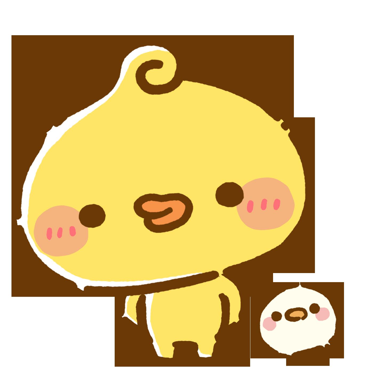 Piyomaru sticker character