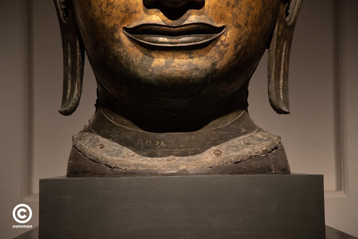 #เศียรพระ #ศิลปะโบราณ #พระพุทธรูป #photoessay #culture