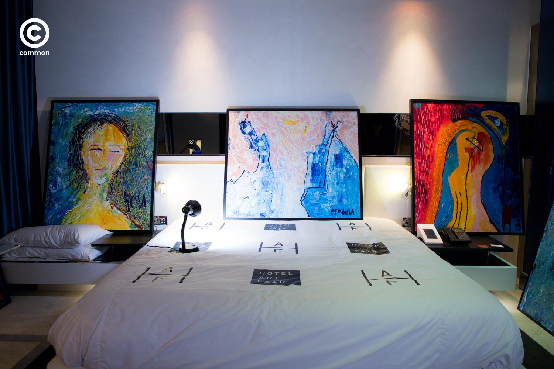 hotel art fair