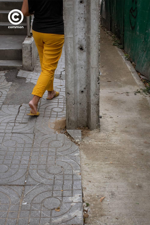 #ฟุตบาธ #ทางเท้า #บาทวิถี #ทางเดิน