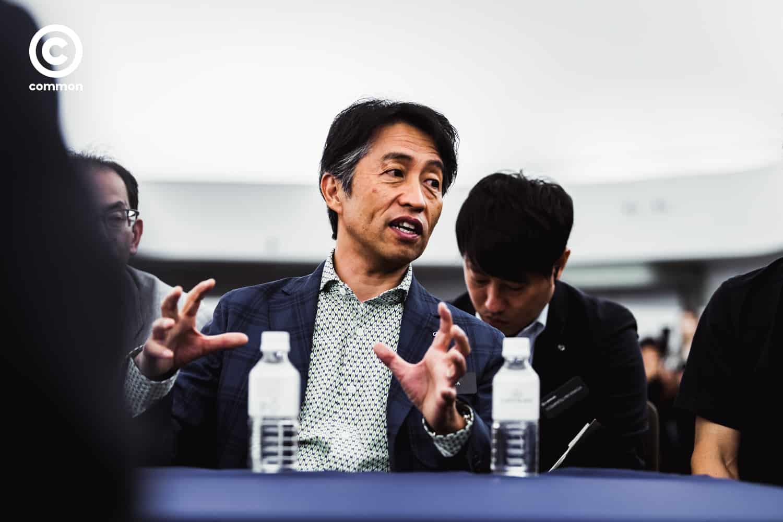 คุณโคอิจิ ซูกะ หัวหน้าดีไซน์เนอร์ผู้ออกแบบรถยนต์ Lexus LS 500h