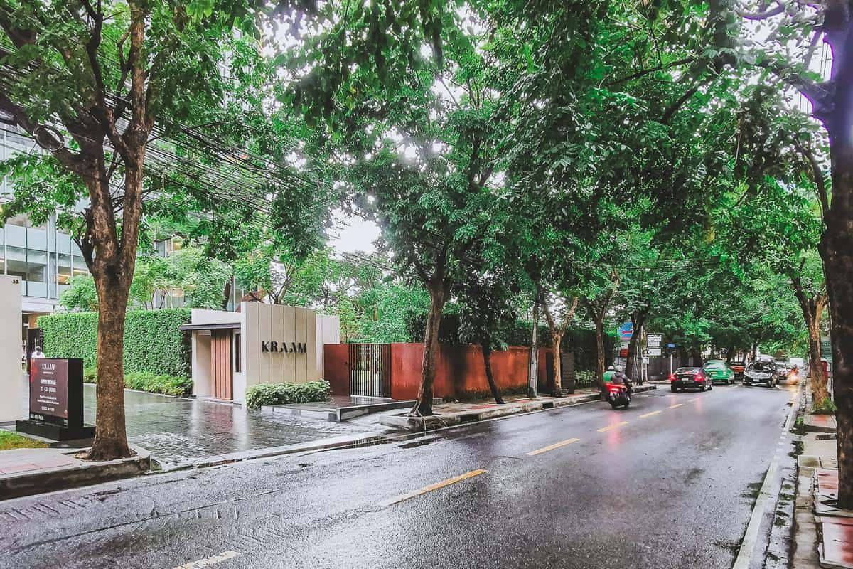 สุขุมวิท 26 ถนน ซอย ต้นไม้