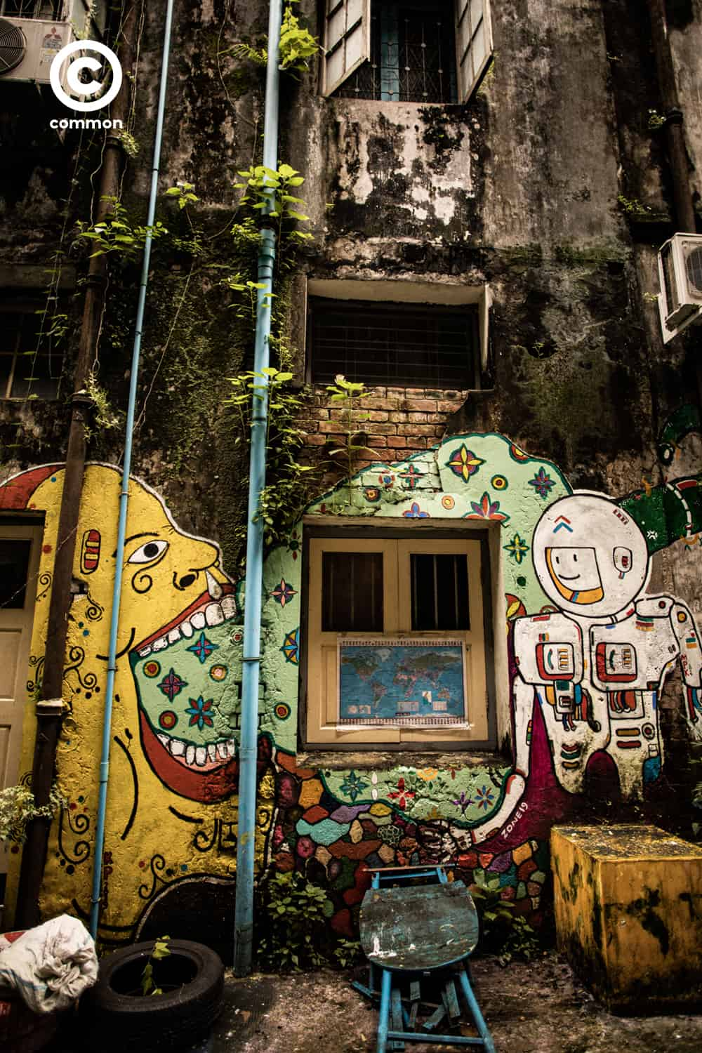 street art Rangoon