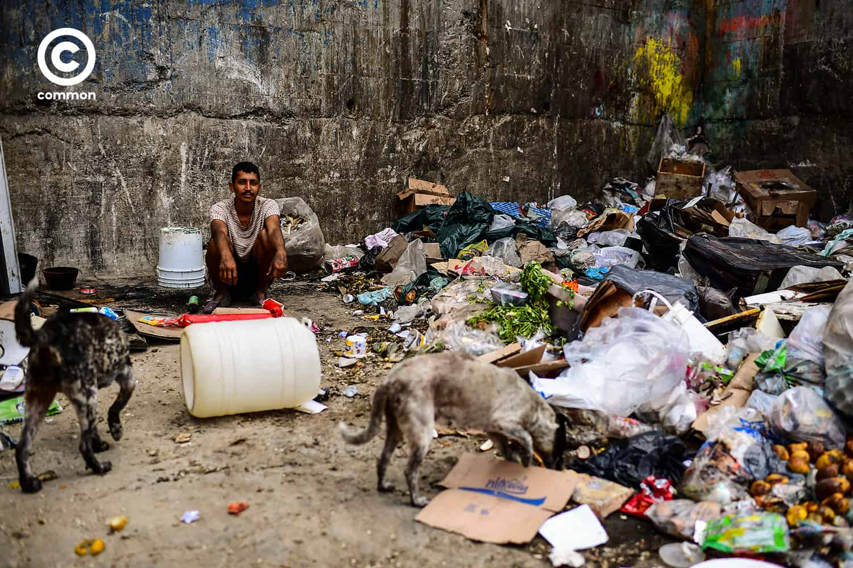 food waste common