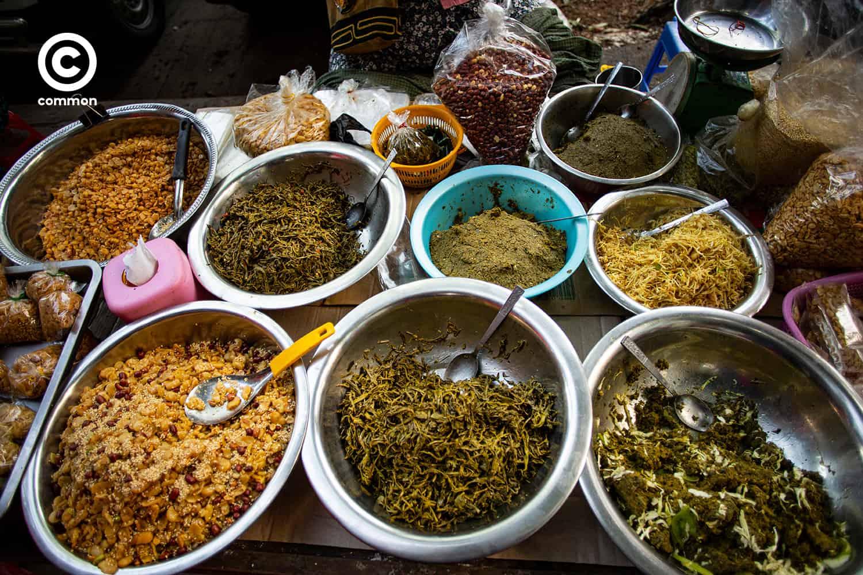Myanmar street food
