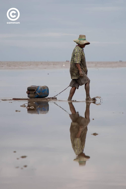 #photoessay #คนหาหอย #หอยแครง #หอยตลับ #LIFE #common