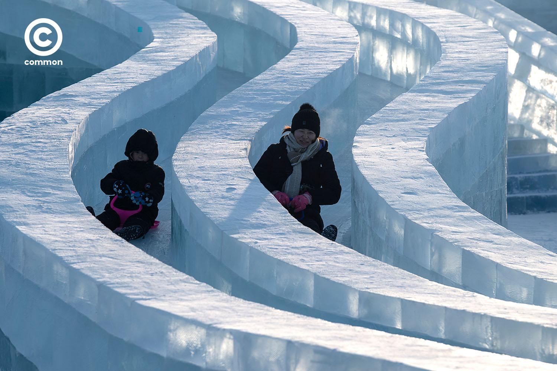 ฮาร์บิน เทศกาล น้ำแข็ง 2020 Harbin Festival