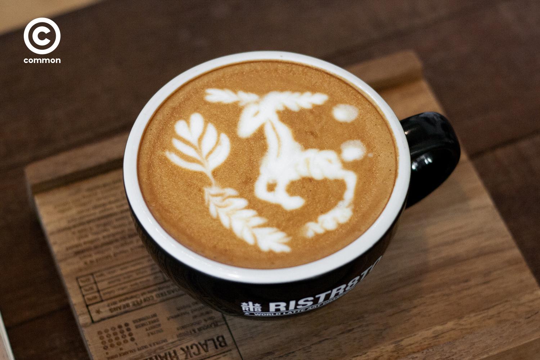อานนท์ ธิติประเสริฐ ต๋อง บาริสต้า Ristr8to กาแฟที่ดี ลาเต้อาร์ต