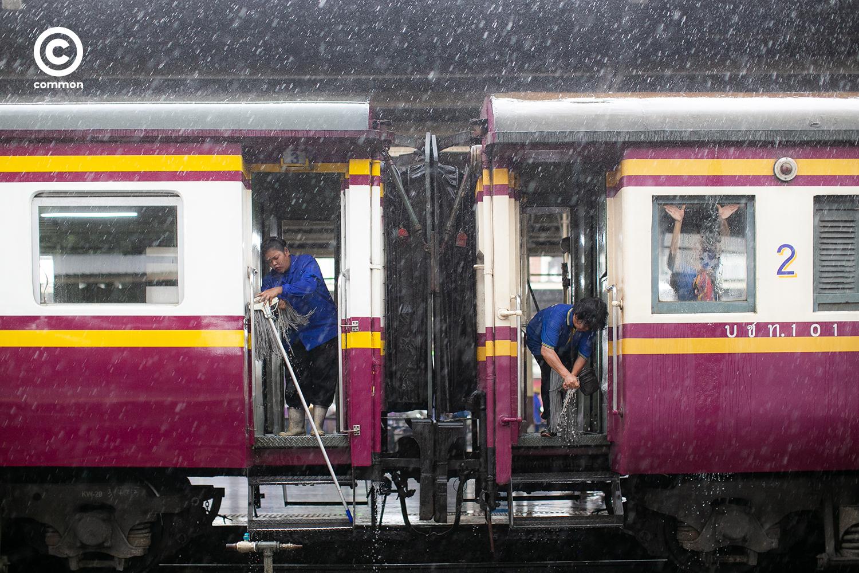 #สถานีรถไฟหัวลำโพง #พนักงานทำความสะอาด #CULTURE #becommon