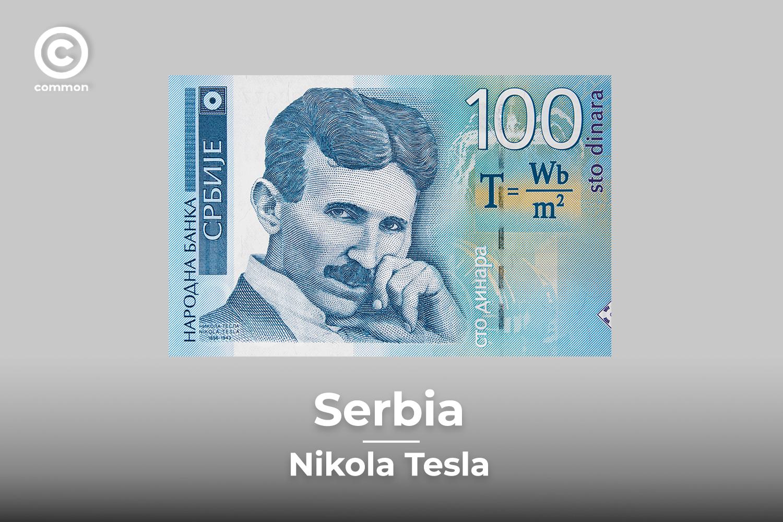Serbia banknote